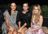 The afterparty, Georgina Chapman, Camilla Belle, and Emma Roberts.