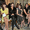 Celebrities at Marchesa Spring 2012 Fashion Week Show