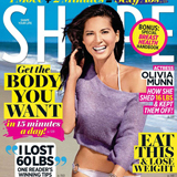 Olivia Munn Workout Tips in Shape Magazine