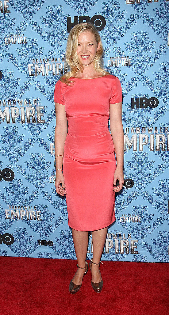 Gretchen Mol at the Boardwalk Empire premiere.