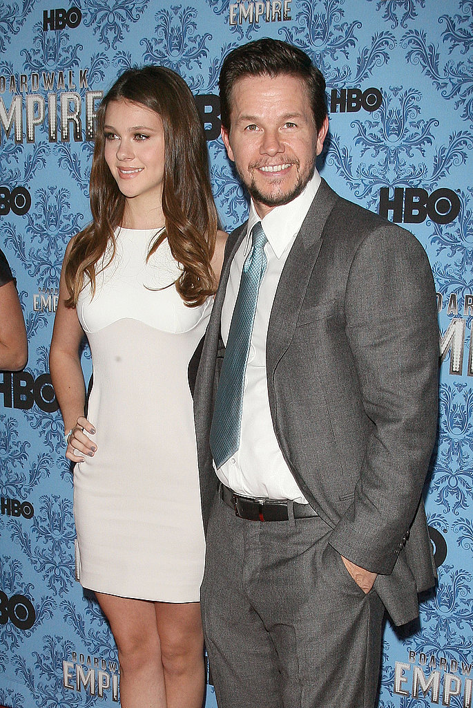 Mark Wahlberg and Nicola Peltz at the Boardwalk Empire premiere.