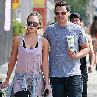 Jessica Alba and Cash Warren Workout in LA Pictures