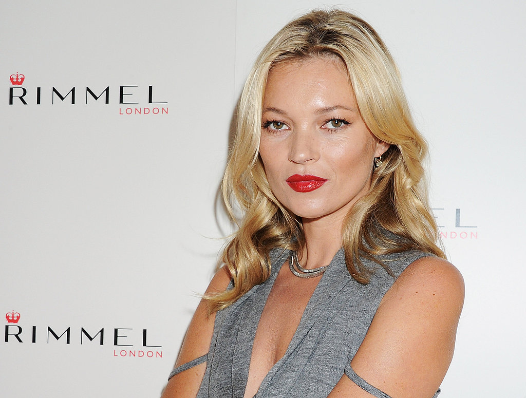 Kate Moss kicks off London Fashion Week.