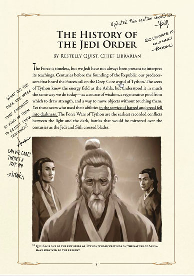 The History of the Jedi Order, excerpt from The Jedi Path.