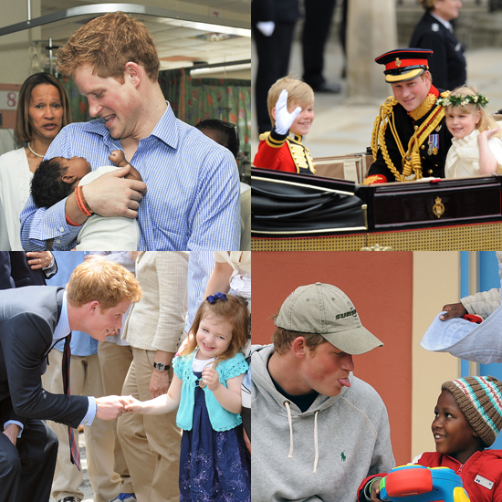 Good With Kids: Birthday Boy Prince Harry Shows His Sweet Side