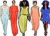 Top Five Colour Trends From the Runways at 2012 Spring Summer New York Fashion Week: Mint, Coral, Cobalt, Yellow and Orange