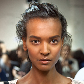 Proenza Schouler Spring 2012: Backstage Hair Pictures