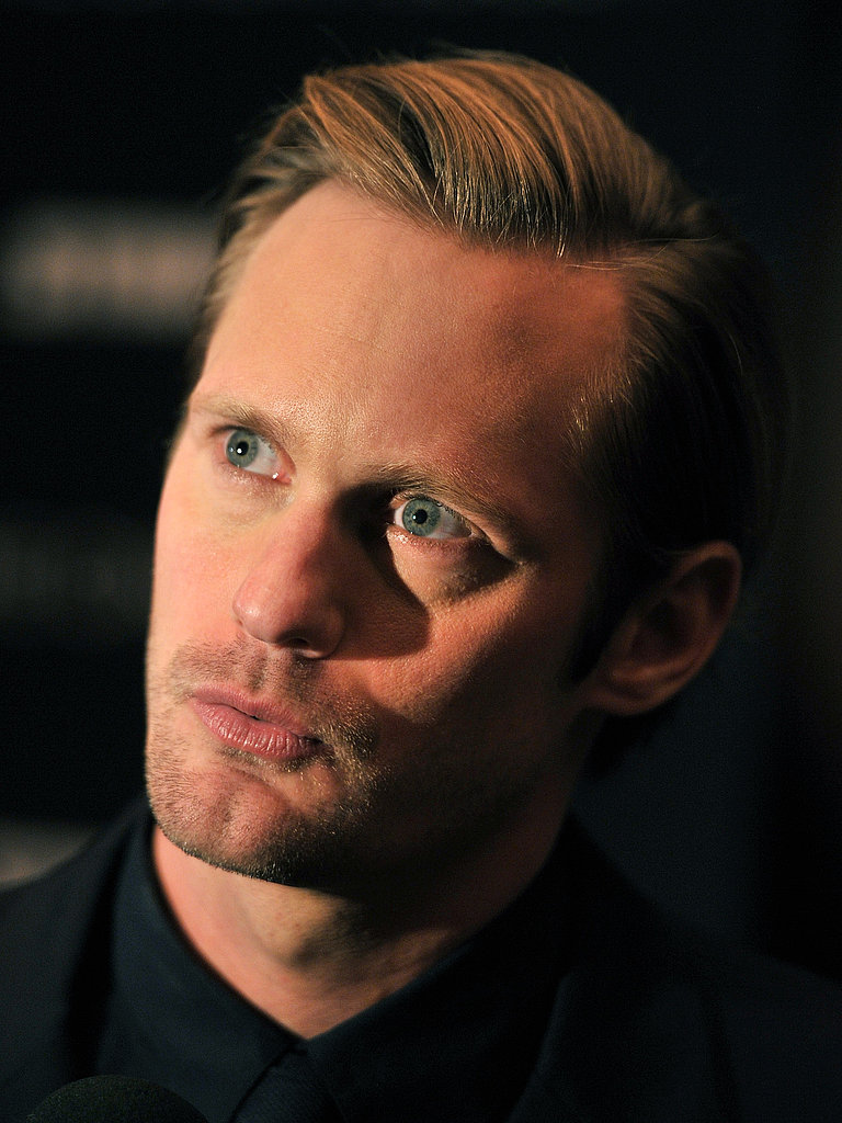 Alexander Skarsgard out in NYC.