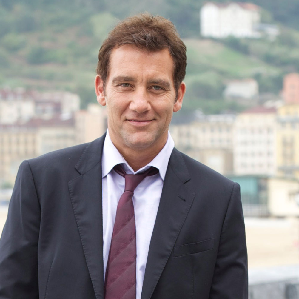 Clive Owen at San Sebastian Film Festival For Intruders