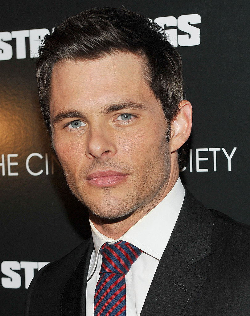 James Marsden premiere Straw Dogs.