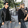 Jennifer Aniston &amp; Justin Theroux Lunch in West Village Pictures