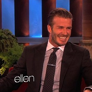 David Beckham Talking About More Babies on Ellen [Video]
