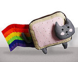 Nyan cat plush ($80)