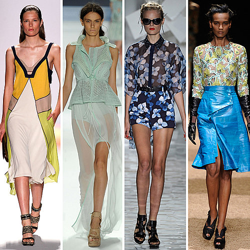 Trend Report from the Runways of 2012 Spring Summer New York Fashion Week: Graphic Prints, the Roaring 1920s, Leather and more!