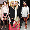 Mary-Kate and Ashley Olsen at New York Fashion Week 2011