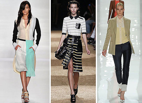 Runway Trend From New York Fashion Week 2012 Spring Summer Collections: Shirts and Button Downs