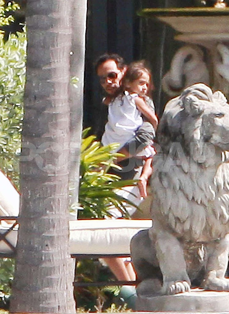 Jennifer Lopez Brings the Twins to Reunite With Marc Anthony For His Birthday