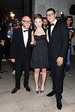 Scarlett posed for photos with Dolce & Gabbana.