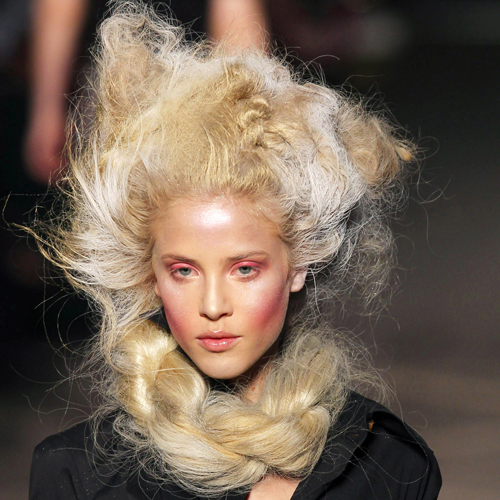 "The ""Wrapunzel"" Hair at Vivienne Westwood"