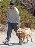 Ryan Gosling hit the trail with George.