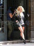 Britney Spears and Jason Trawick Make a Run For It While Filming in London