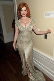 Christina Hendricks at the AMC post-Emmys party.