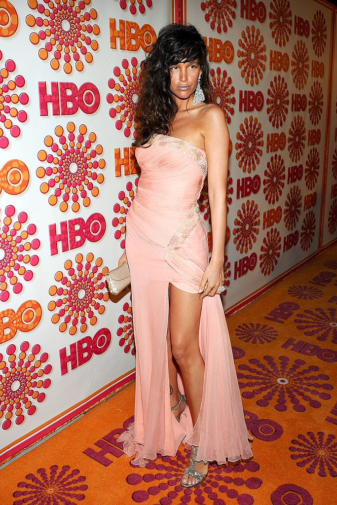 Paz de la Huerta of Boardwalk Empire at the Emmys HBO bash.