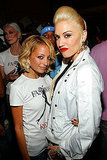 Nicole Richie and Gwen Stefani posed for a photo during NYC's September 2005 Fashion Week.