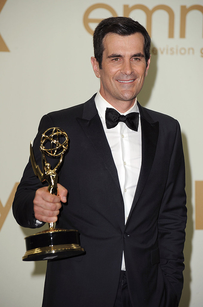 Ty Burrell in the Emmys press room.