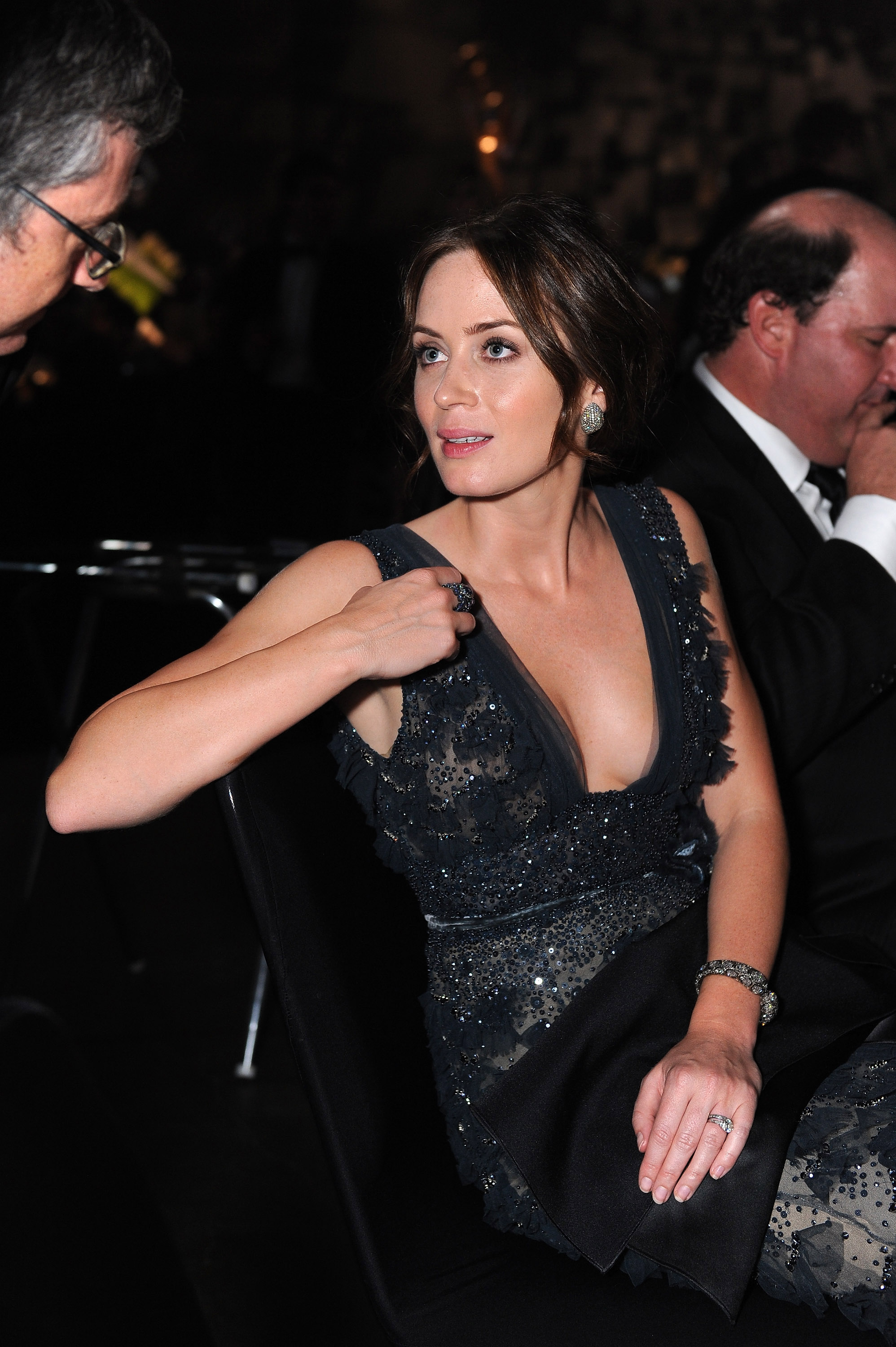 Emily Blunt at the Emmys Governor's Ball.