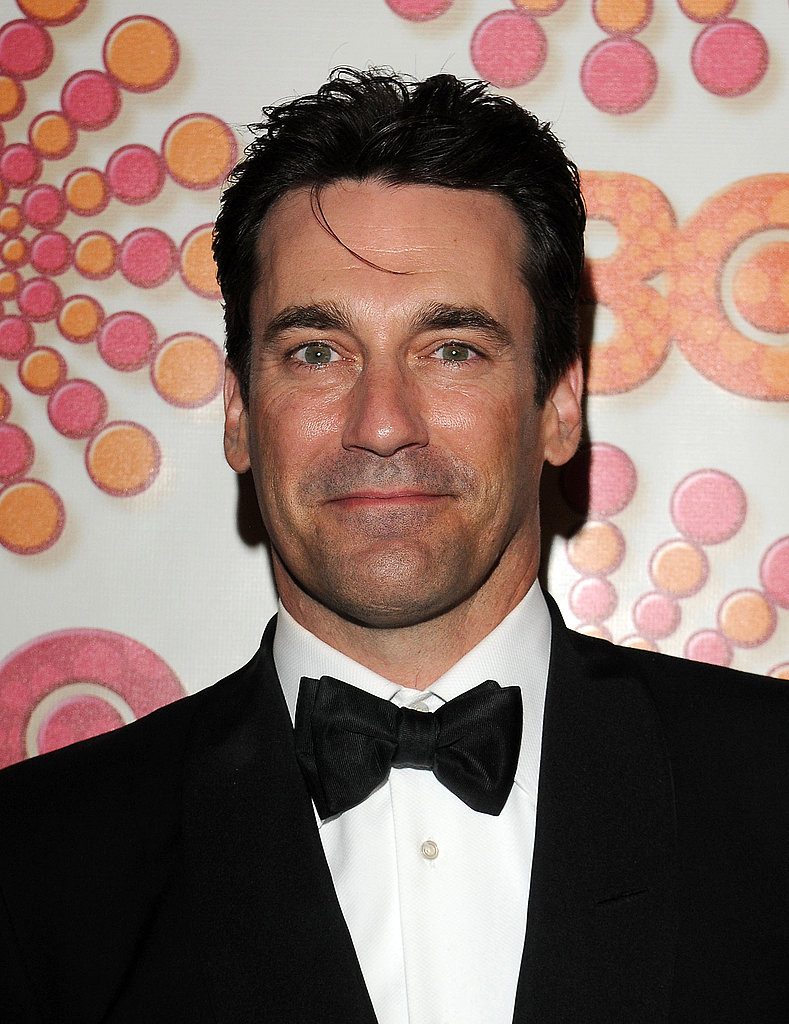 Jon Hamm at the HBO afterparty.