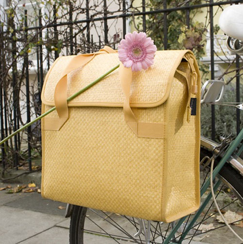 Deluxe Shopper Bicycle Pannier