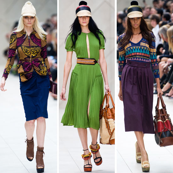 Burberry Prorsum Spring 2012 London Fashion Show