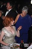 Mad Men's Christina Hendricks and Randee Heller attend the Governors Ball.