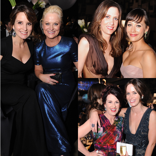 Girlfriend Moments at the Emmys Afterparties