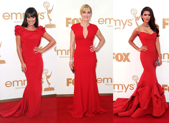 2011 Emmy Awards: Red-Hot Ladies Hit the Red Carpet
