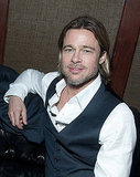 Brad Pitt at his afterparty.