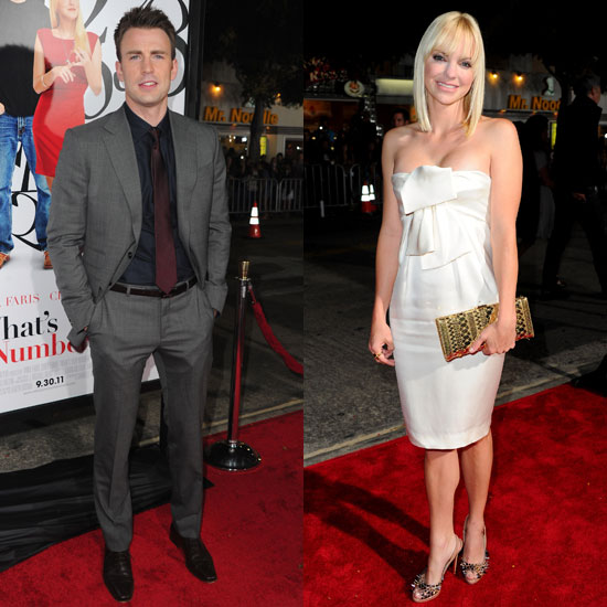 Anna Faris and Chris Evans Team Up For a What's Your Number Night