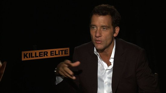 "Clive Owen Says He and Jason Statham Rehearsed For ""Weeks"" Before Taking Each Other On in Killer Elite"