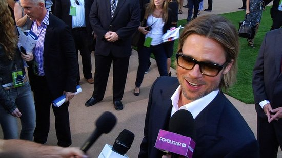 Video: Brad Pitt Talks Maddox and Gets Praise From All His Costars at Moneyball Premiere!