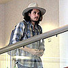 John Mayer Departs on a Flight Out of LAX Pictures