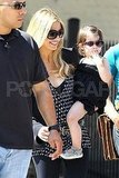 Sarah Michelle Gellar and her daughter Charlotte.