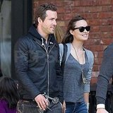 Ryan Reynolds with Olivia Wilde in NYC.