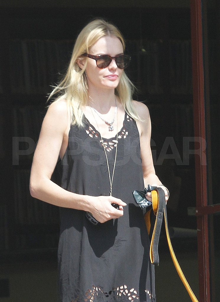 Kate Bosworth wore a cutout dress to the appointment.