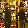 Jennifer Aniston and Justin Theroux Shopping in New York City (Video)