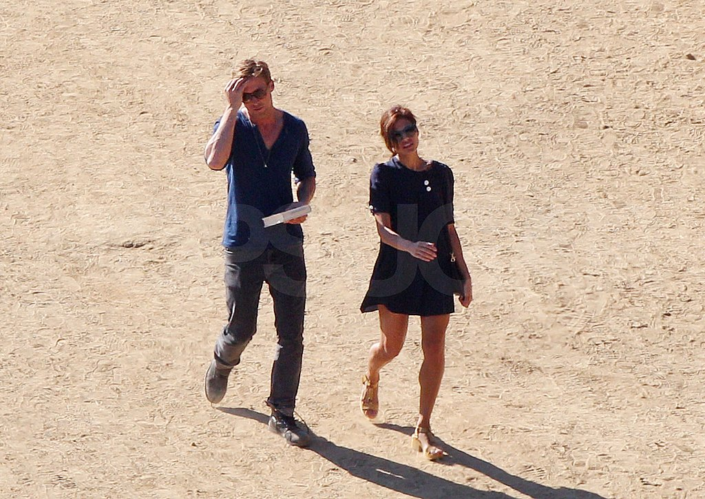 Ryan Gosling and Eva Mendes together in LA.