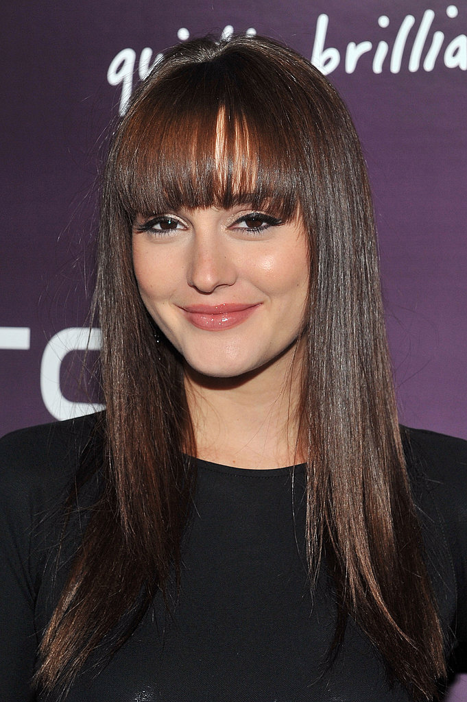Leighton Meester at the launch of the new HTC Rhyme Android smartphone.