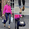 Sarah Jessica Parker Wearing a Pink Jacket