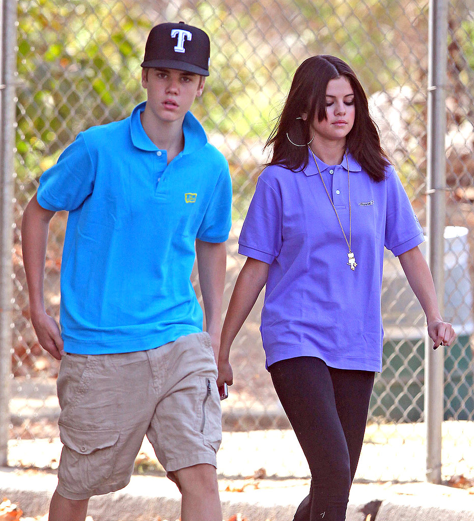 Selena Gomez and Justin Bieber enjoyed one of the first days of Fall.