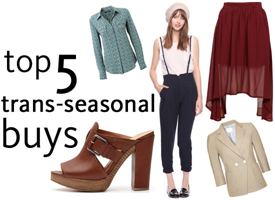 Top 5 Trans-seasonal Buys to Get You Through Spring